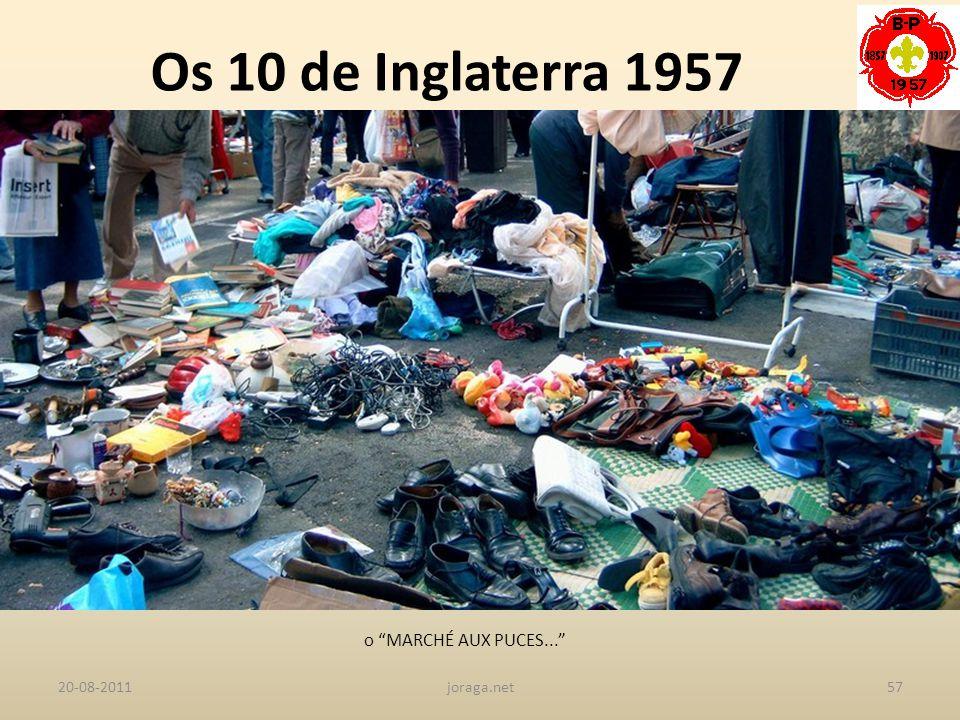 Os 10 de Inglaterra 1957 o MARCHÉ AUX PUCES... 20-08-2011 joraga.net