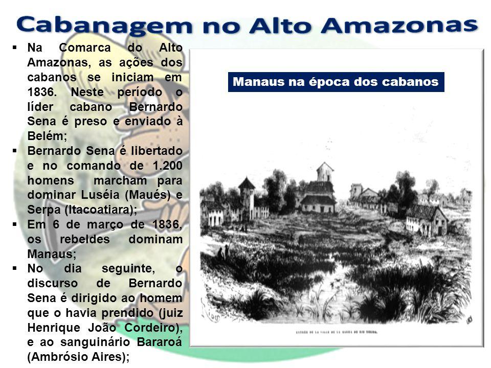 Cabanagem no Alto Amazonas
