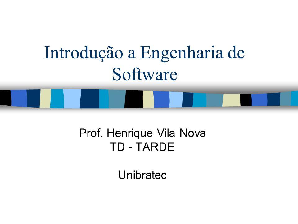 Introdução a Engenharia de Software