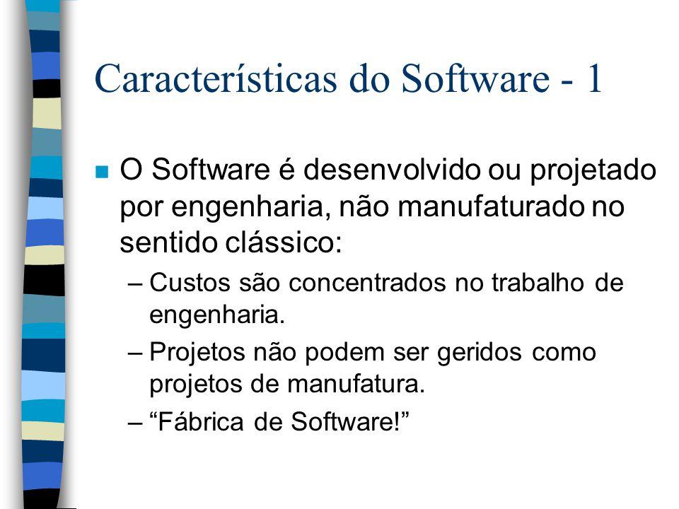 Características do Software - 1