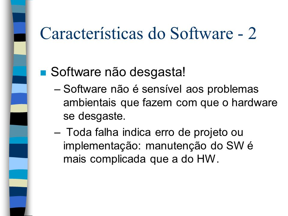 Características do Software - 2