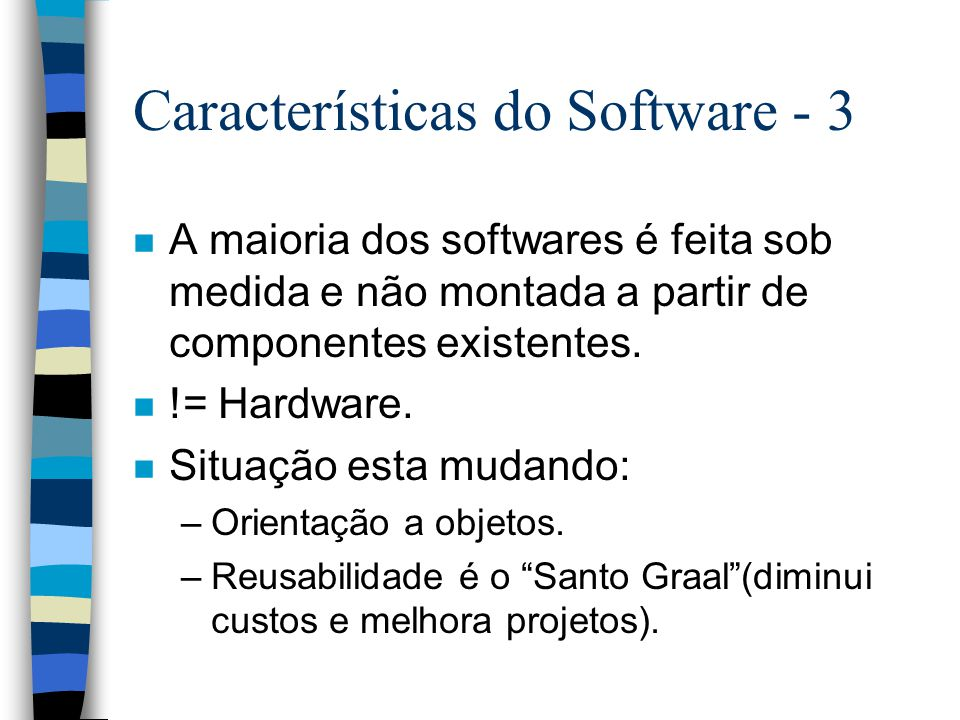 Características do Software - 3