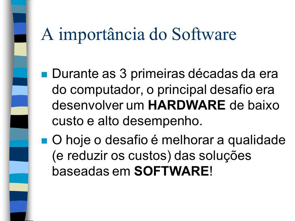 A importância do Software
