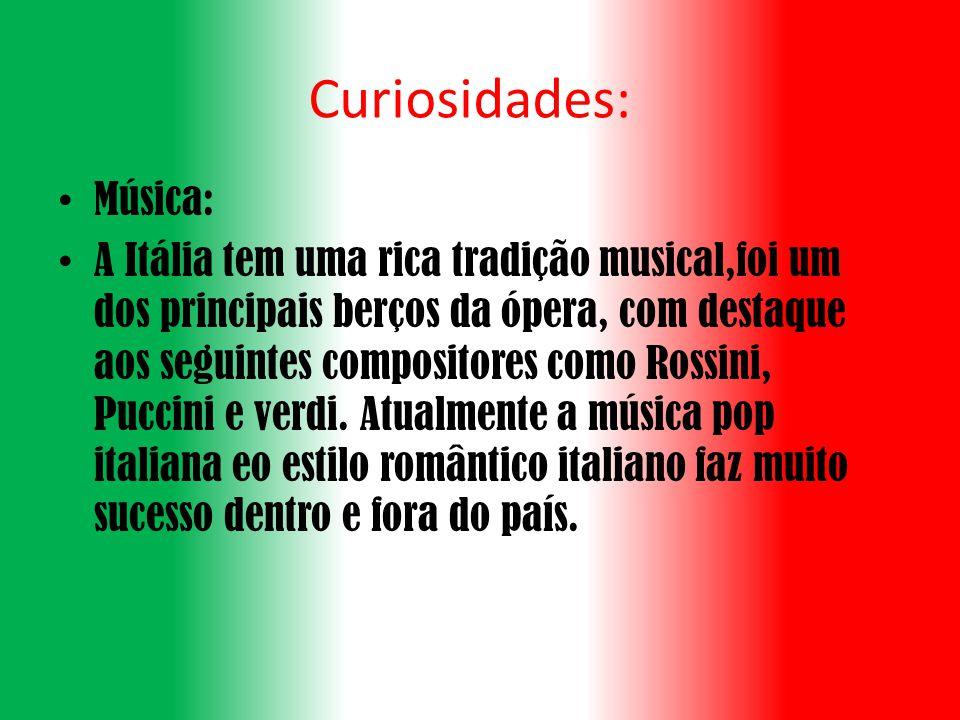 Curiosidades: Música: