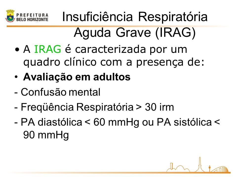 Insuficiência Respiratória Aguda Grave (IRAG)