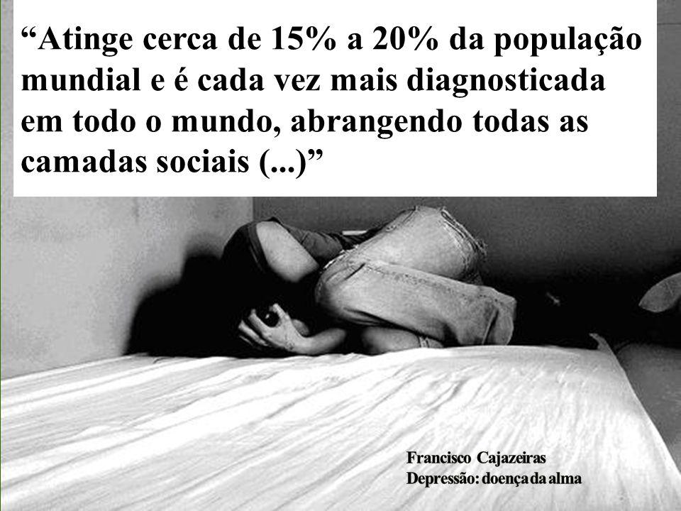 Atinge cerca de 15% a 20% da população mundial e é cada vez mais diagnosticada em todo o mundo, abrangendo todas as camadas sociais (...)