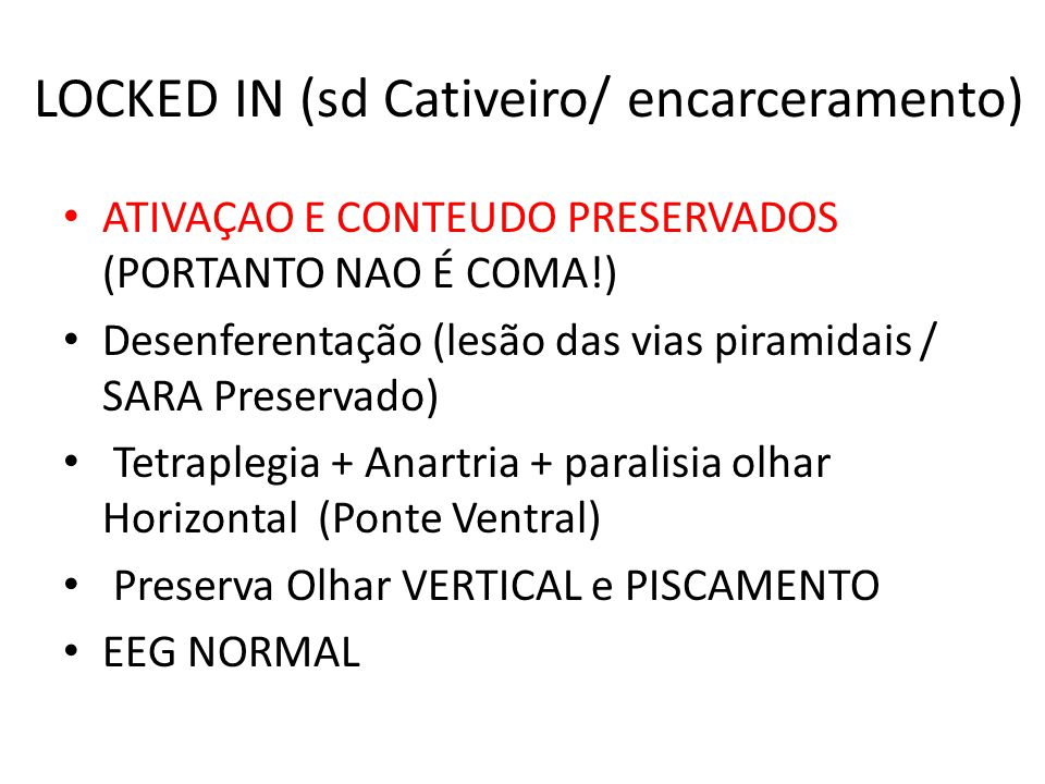 LOCKED IN (sd Cativeiro/ encarceramento)