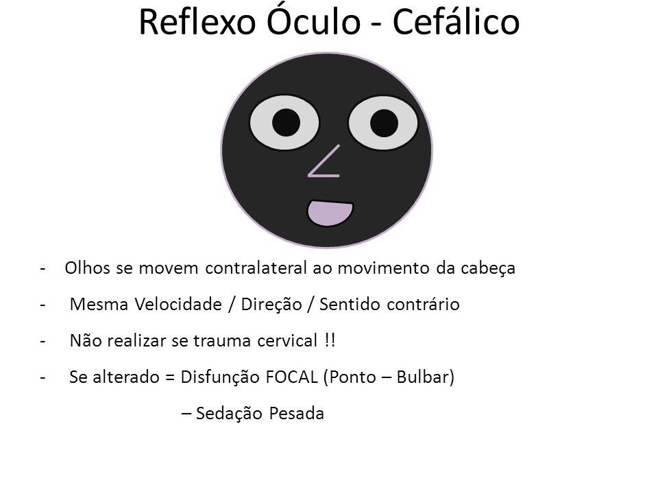 Reflexo Óculo - Cefálico
