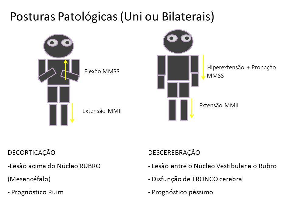 Posturas Patológicas (Uni ou Bilaterais)