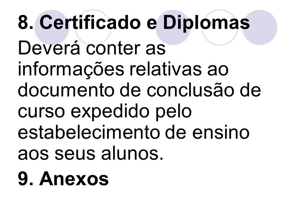 8. Certificado e Diplomas