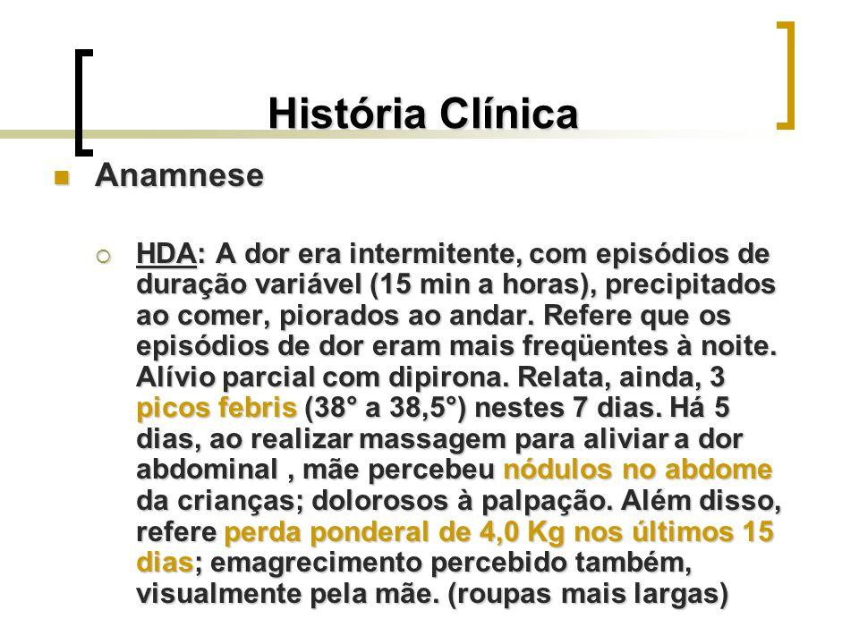 História Clínica Anamnese