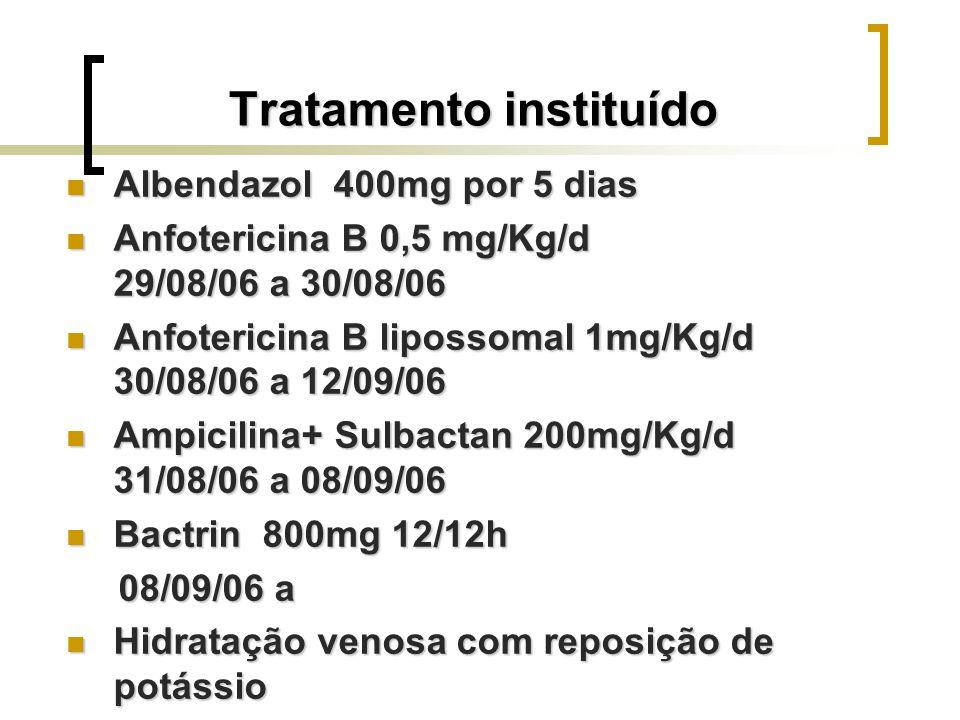 Tratamento instituído