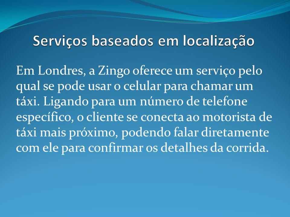 Serviços baseados em localização