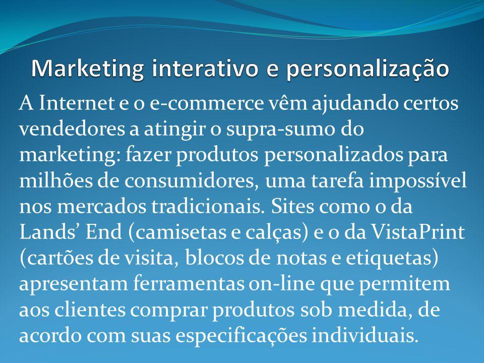 Marketing interativo e personalização