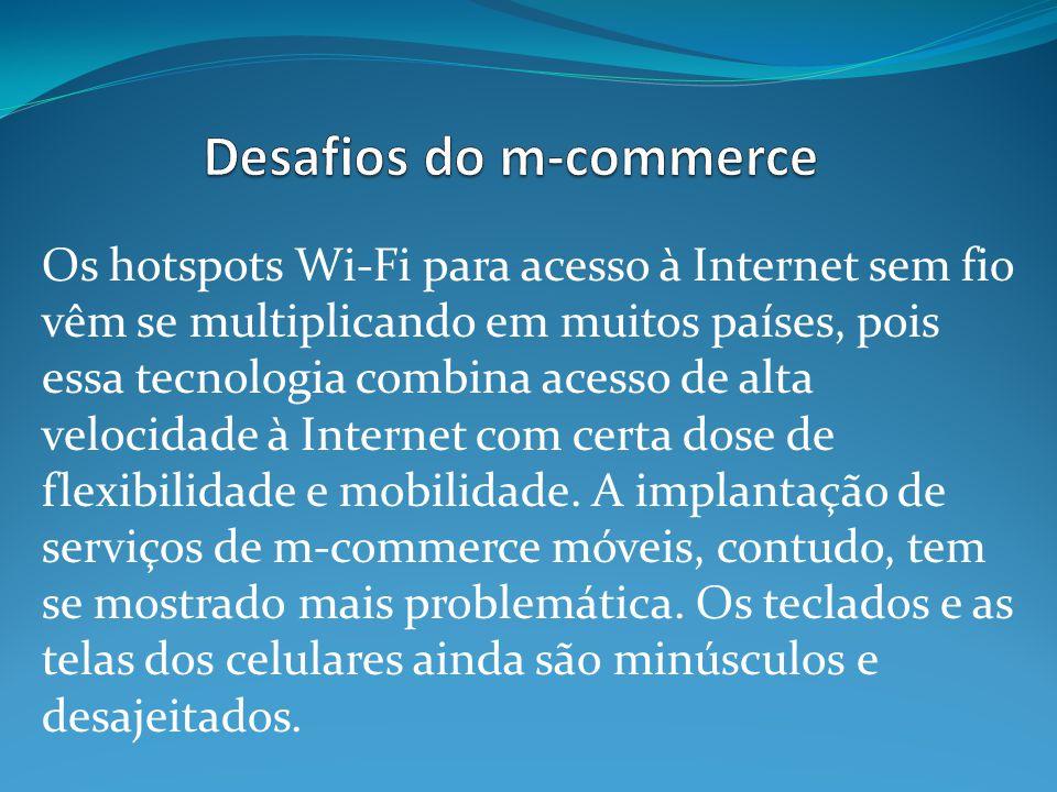 Desafios do m-commerce