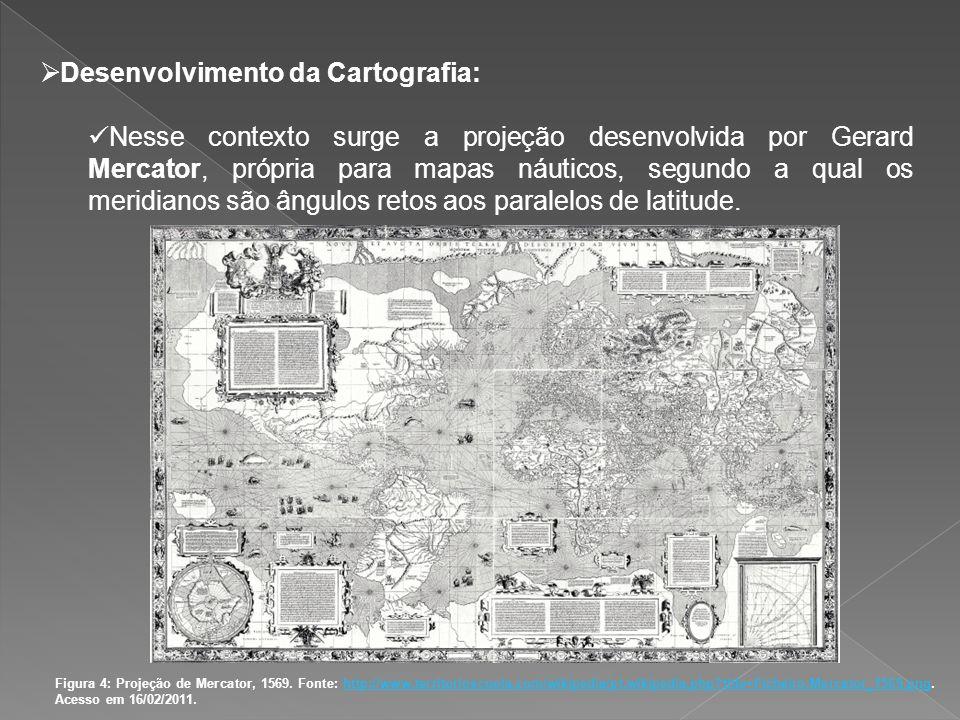 Desenvolvimento da Cartografia: