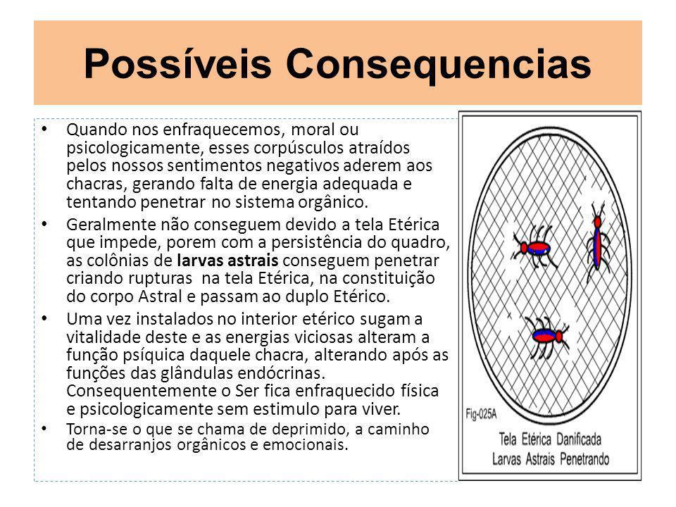 Possíveis Consequencias