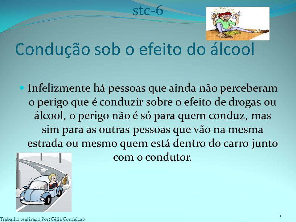 Condução sob o efeito do álcool
