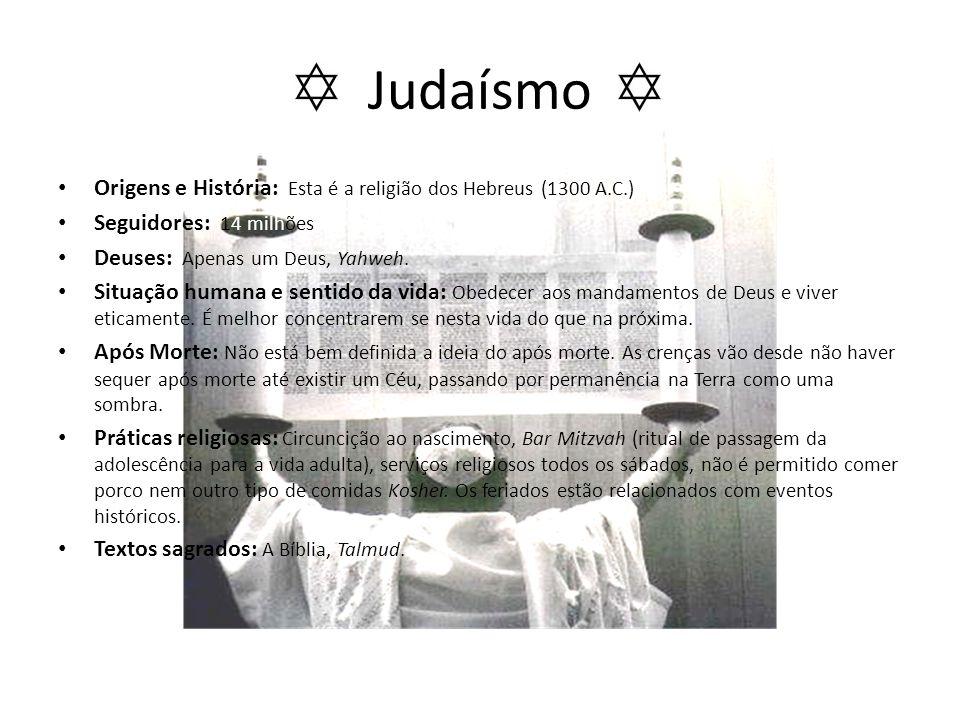 Judaísmo Origens e História: Esta é a religião dos Hebreus (1300 A.C.)