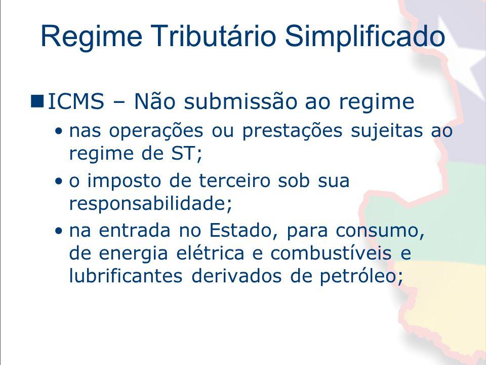 Regime Tributário Simplificado