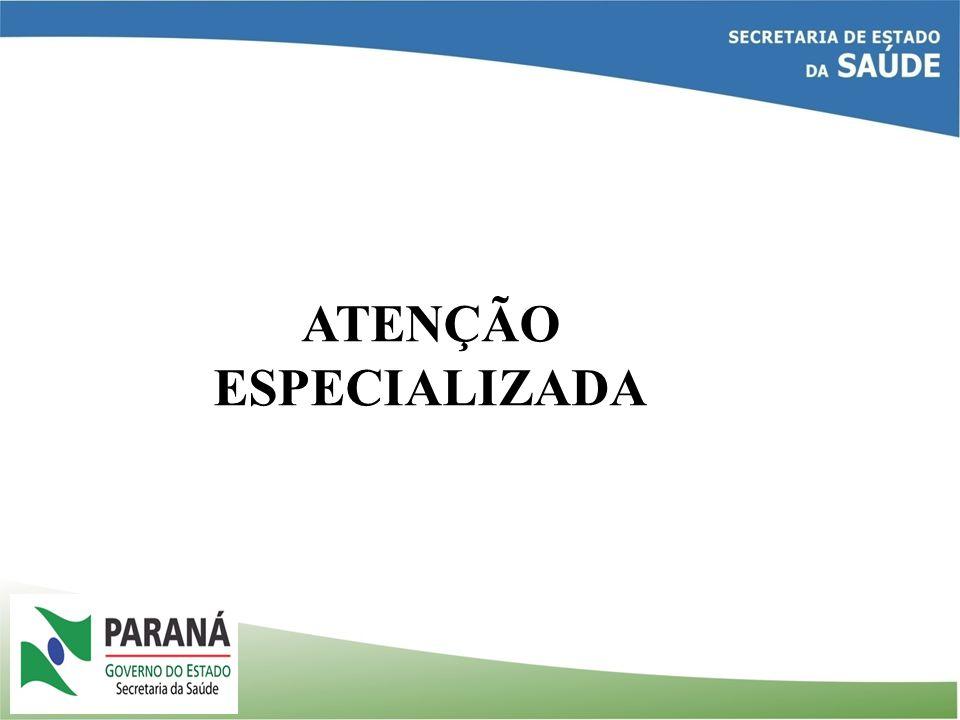 ATENÇÃO ESPECIALIZADA
