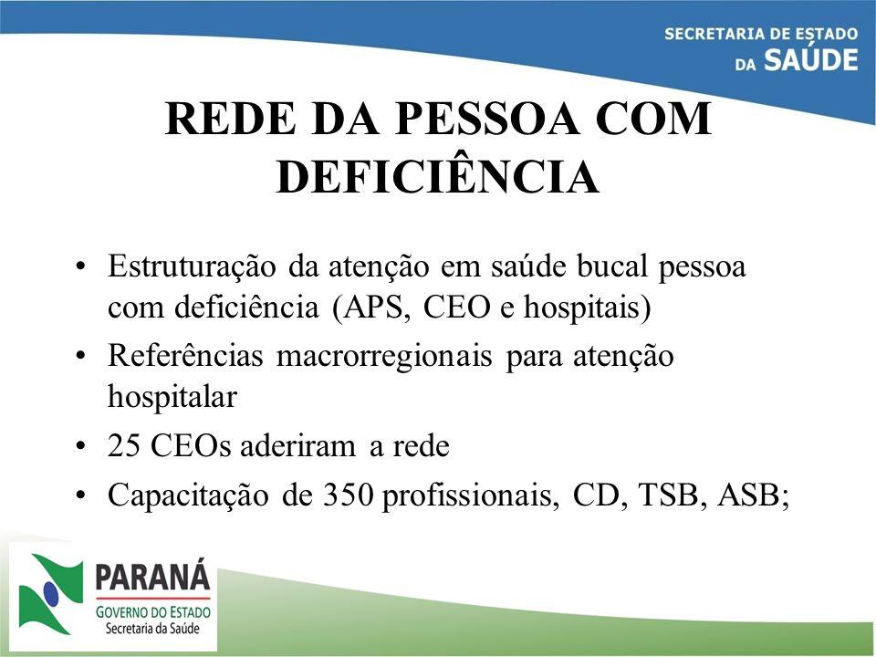 REDE DA PESSOA COM DEFICIÊNCIA