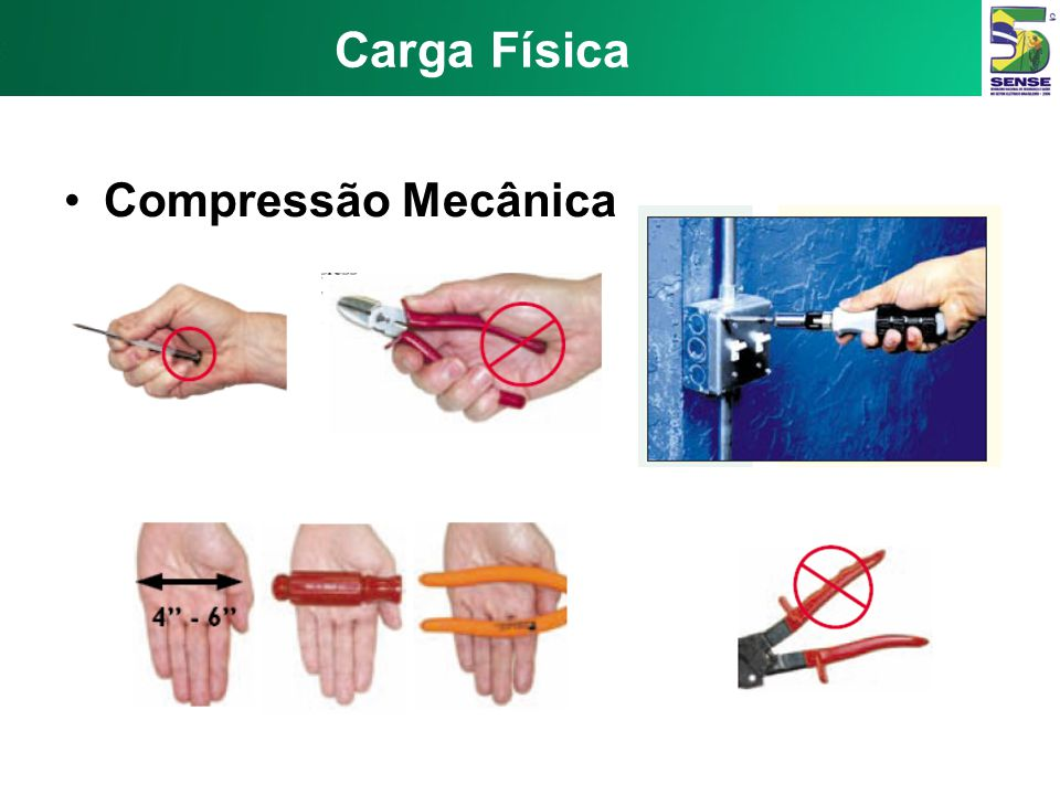 Carga Física Compressão Mecânica