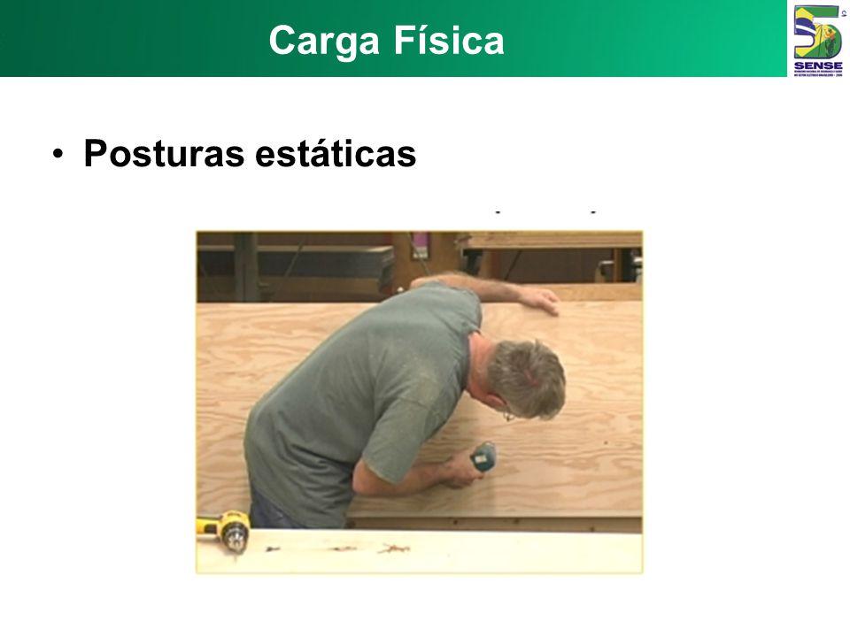 Carga Física Posturas estáticas