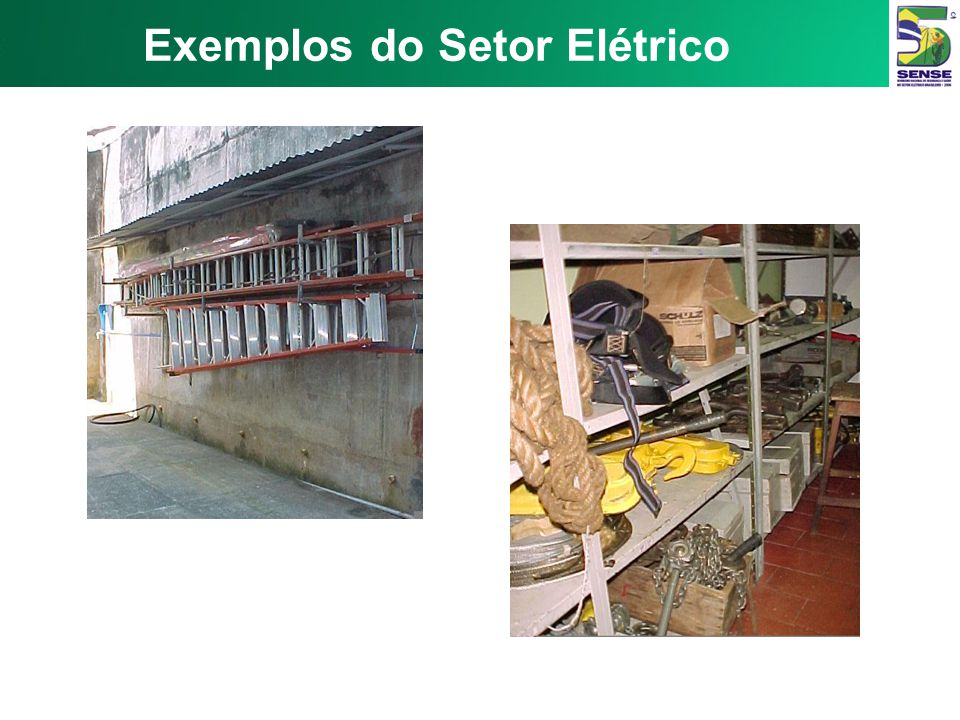 Exemplos do Setor Elétrico