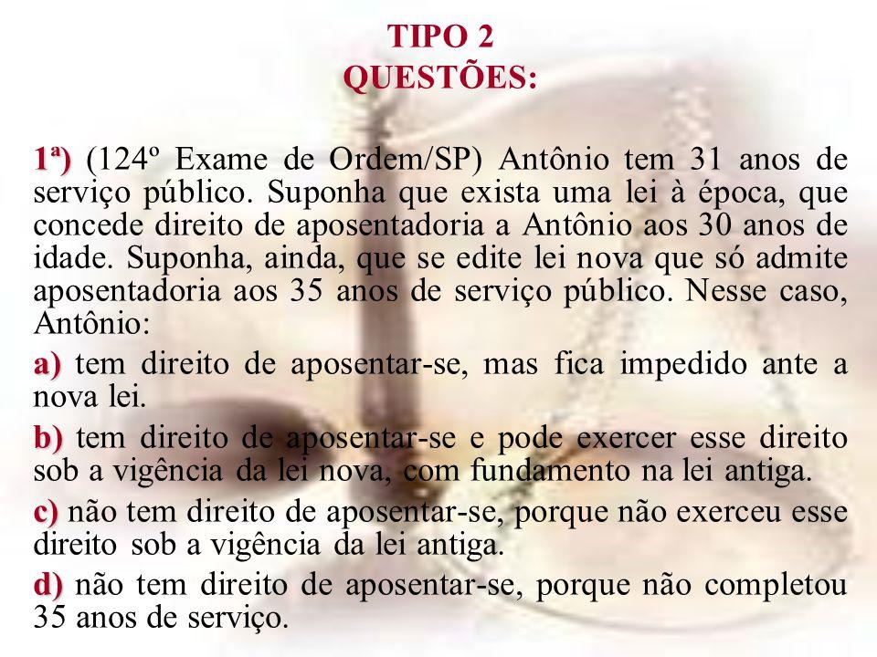 TIPO 2 QUESTÕES: