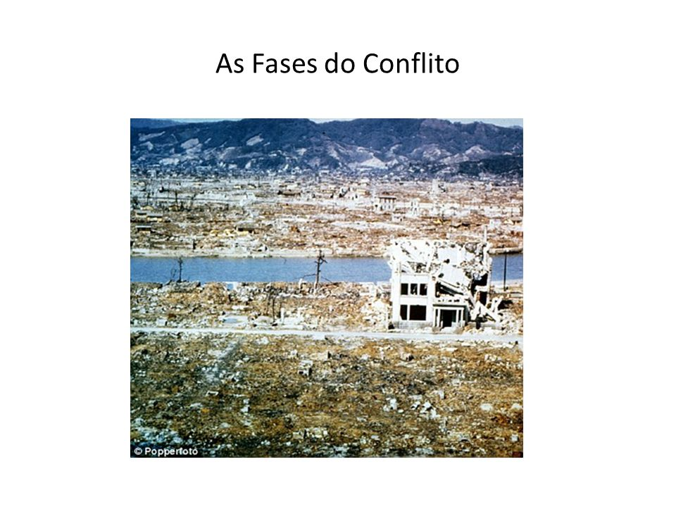 As Fases do Conflito