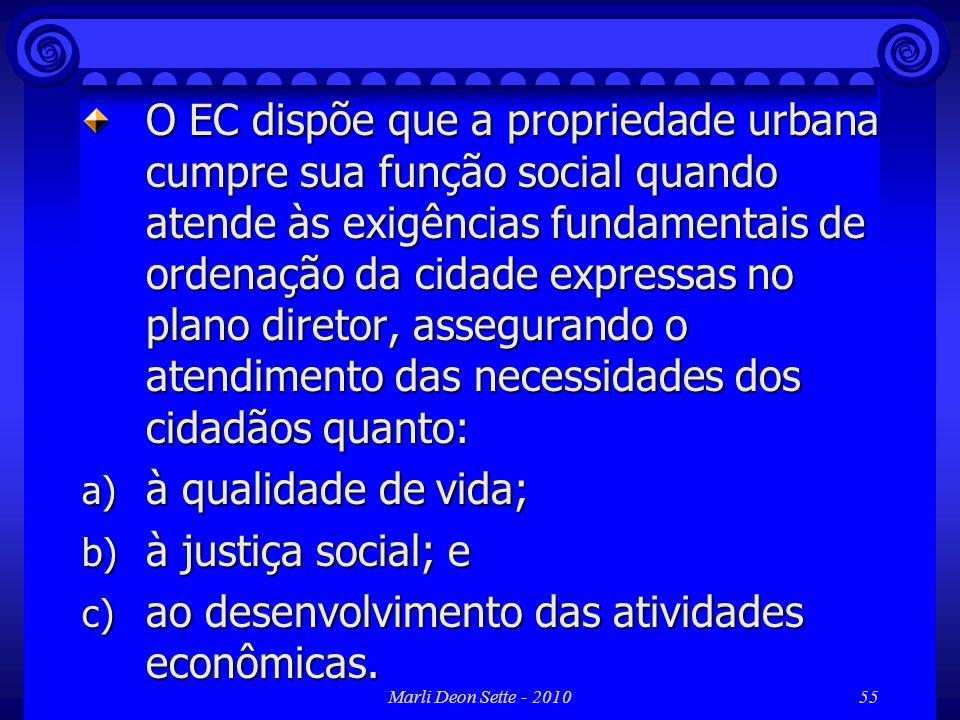 ao desenvolvimento das atividades econômicas.
