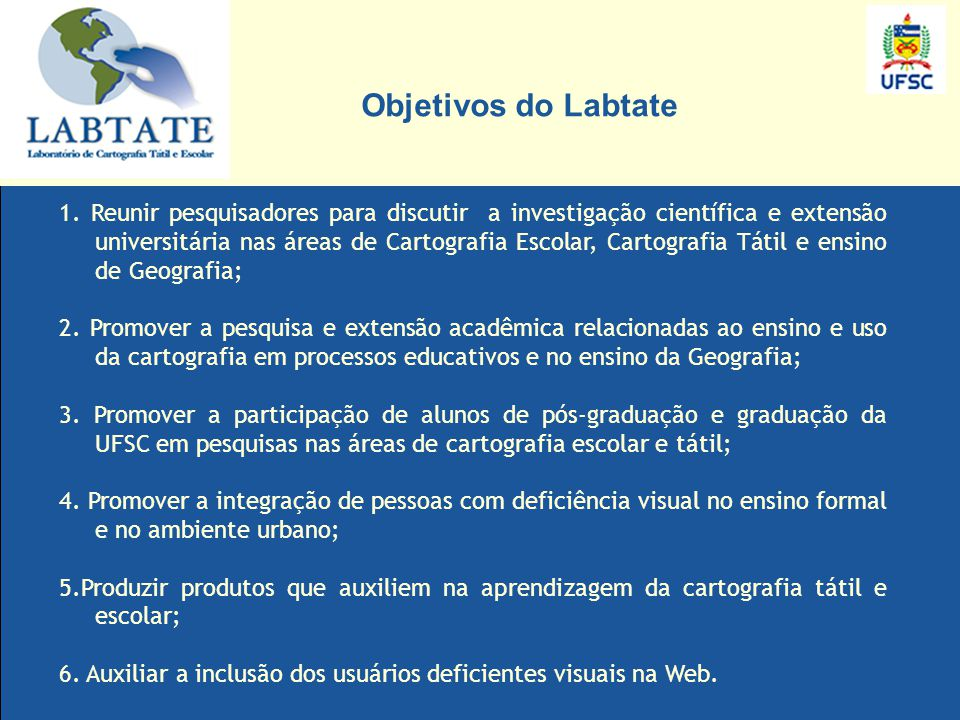 Objetivos do Labtate