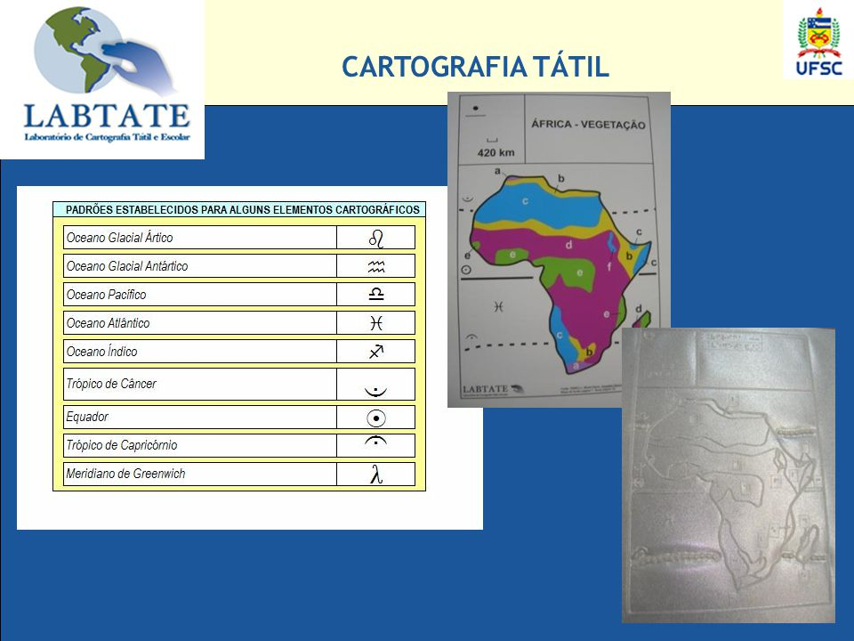 CARTOGRAFIA TÁTIL