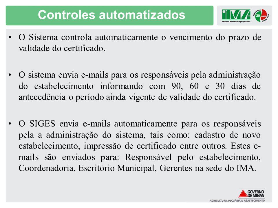 Controles automatizados