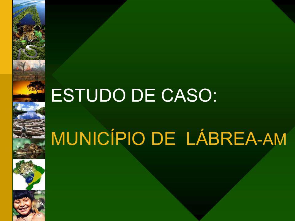 ESTUDO DE CASO: MUNICÍPIO DE LÁBREA-AM