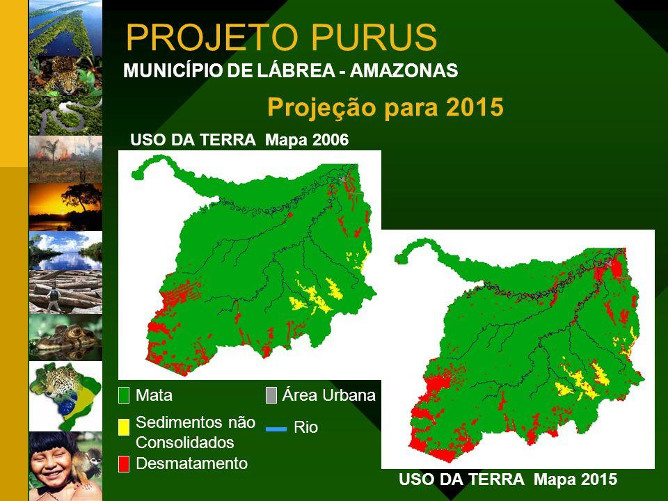 PROJETO PURUS Projeção para 2015 MUNICÍPIO DE LÁBREA - AMAZONAS