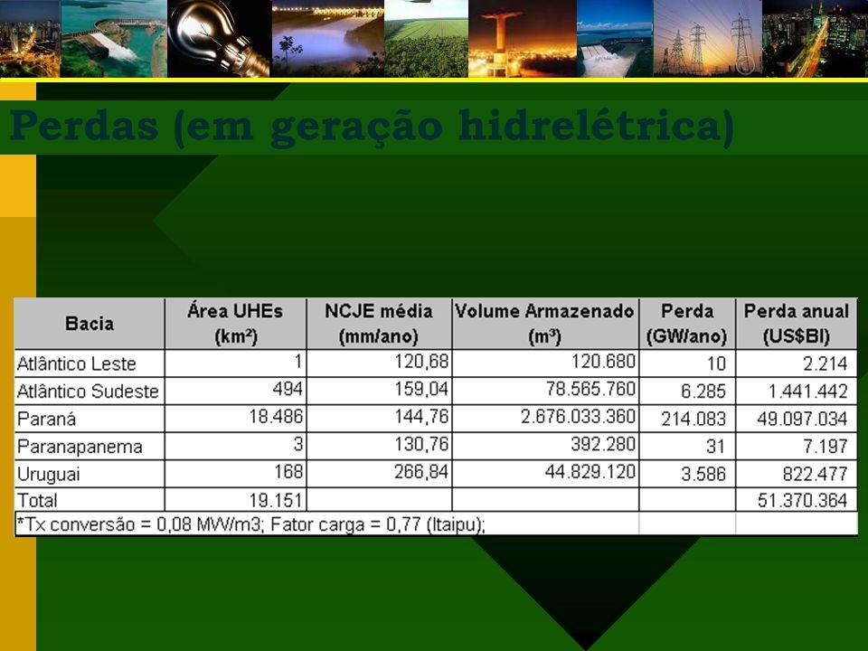 Perdas (em geração hidrelétrica)