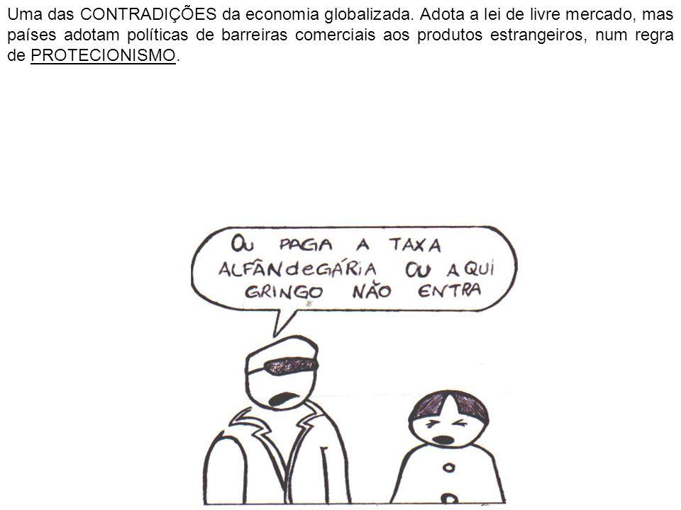 Uma das CONTRADIÇÕES da economia globalizada