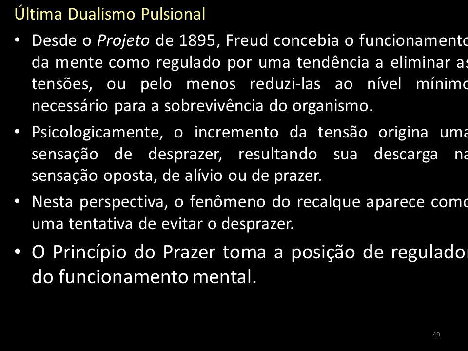 Última Dualismo Pulsional