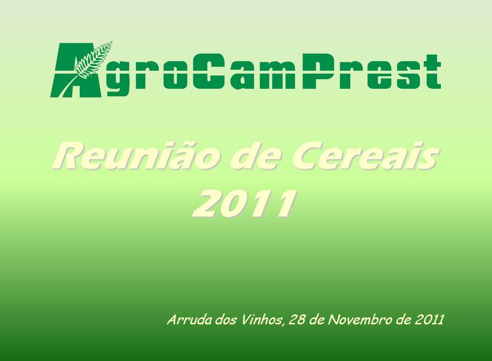 Reunião de Cereais 2011 Arruda dos Vinhos, 28 de Novembro de 2011