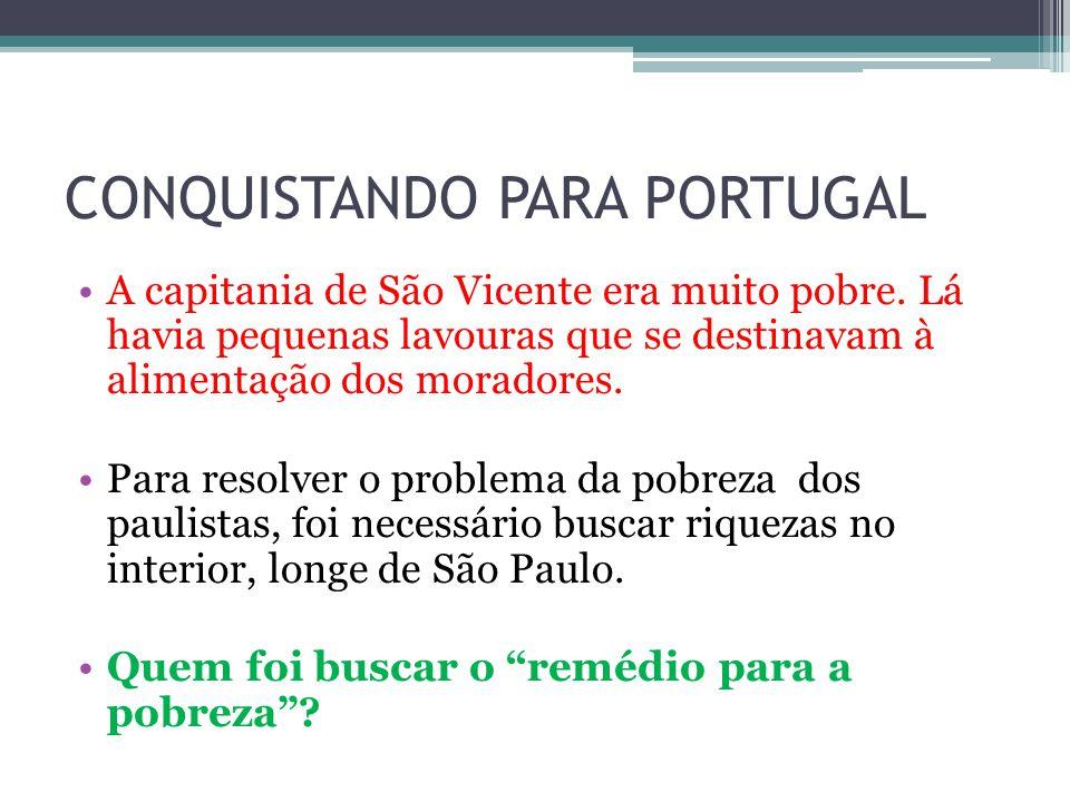 CONQUISTANDO PARA PORTUGAL