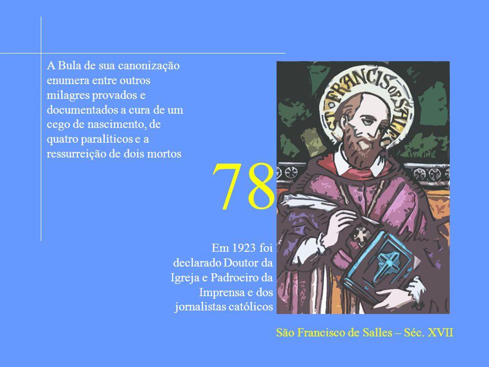 São Francisco de Salles – Séc. XVII