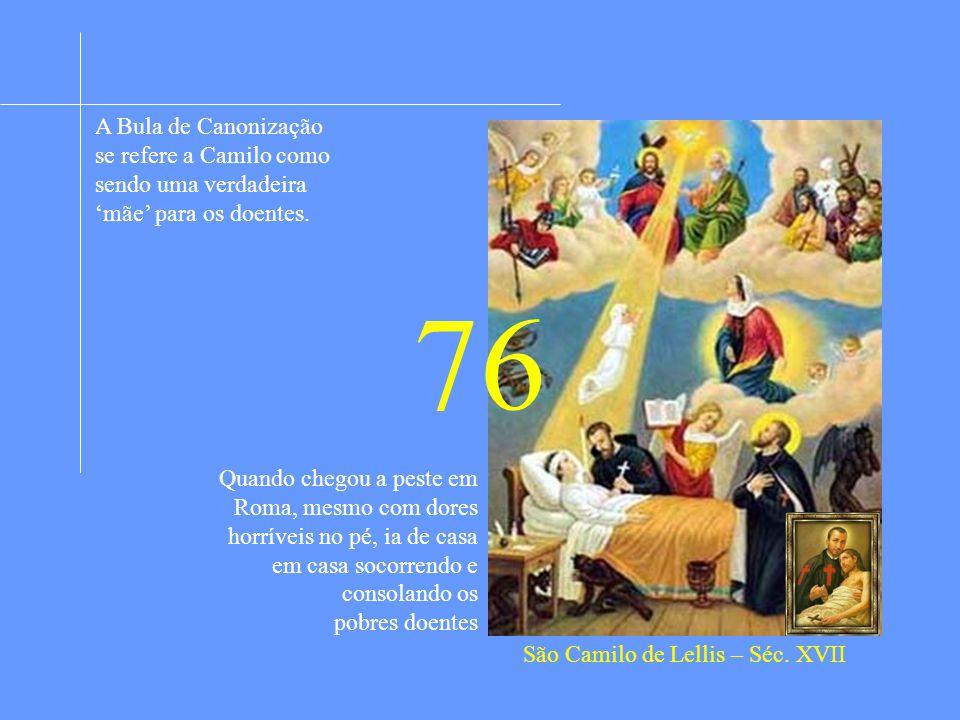 São Camilo de Lellis – Séc. XVII