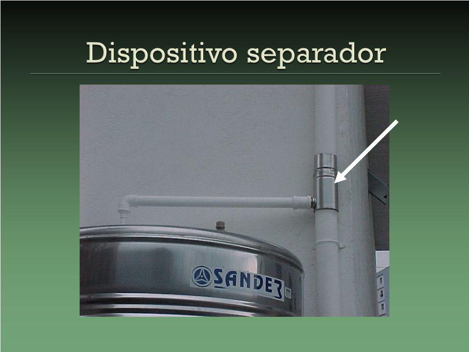 Dispositivo separador