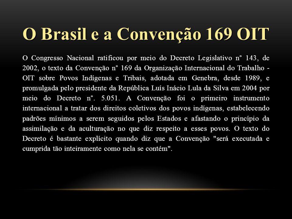 O Brasil e a Convenção 169 OIT