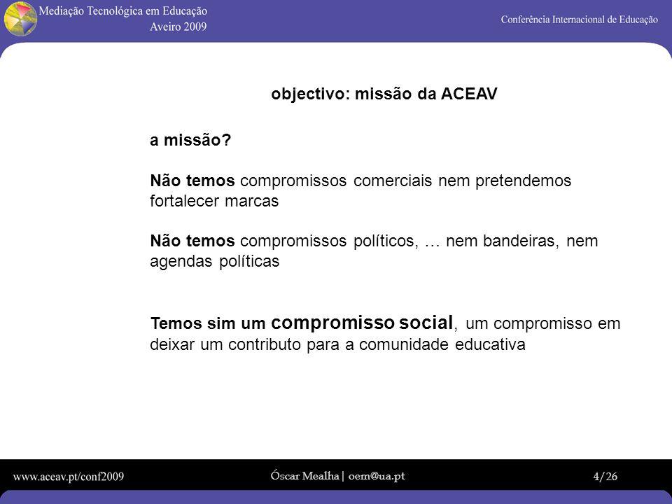 objectivo: missão da ACEAV