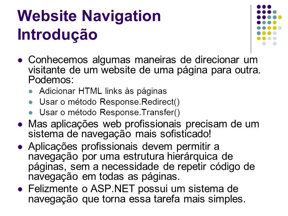 Website Navigation Introdução