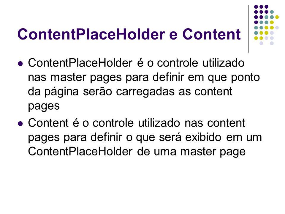 ContentPlaceHolder e Content