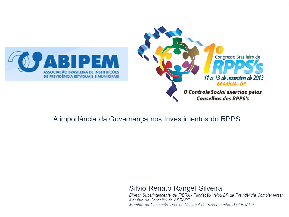A importância da Governança nos Investimentos do RPPS